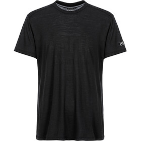 super.natural Essential I.D. T-Shirt Men jet black/jet black logo